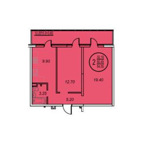 планировка Оникс