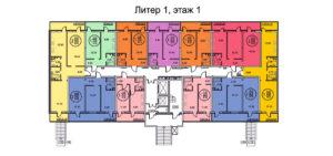 ЖК Оникс планировка