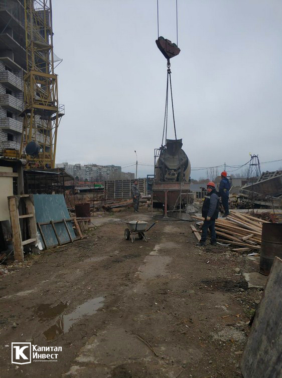 ЖК Грин Парк Литер 3. Фотоотчет январь 2020.