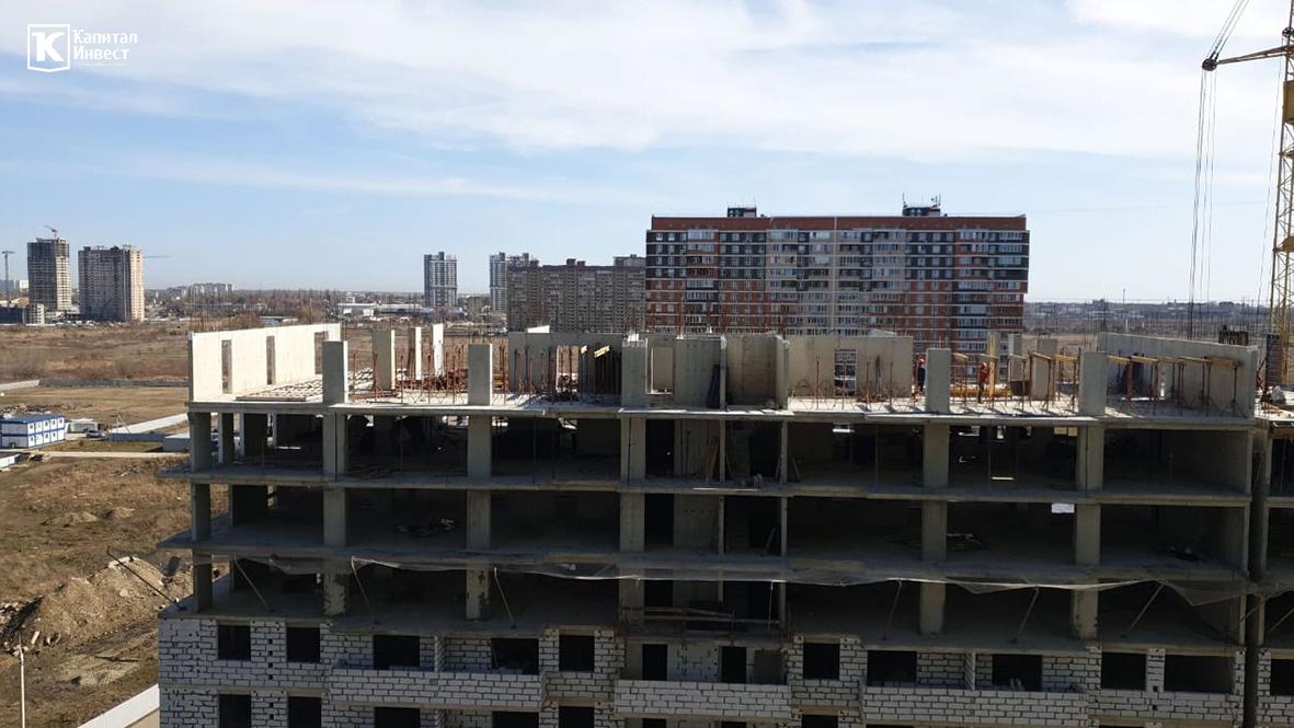 ЖК Грин Парк Литер 3. Фотоотчет февраль 2020.