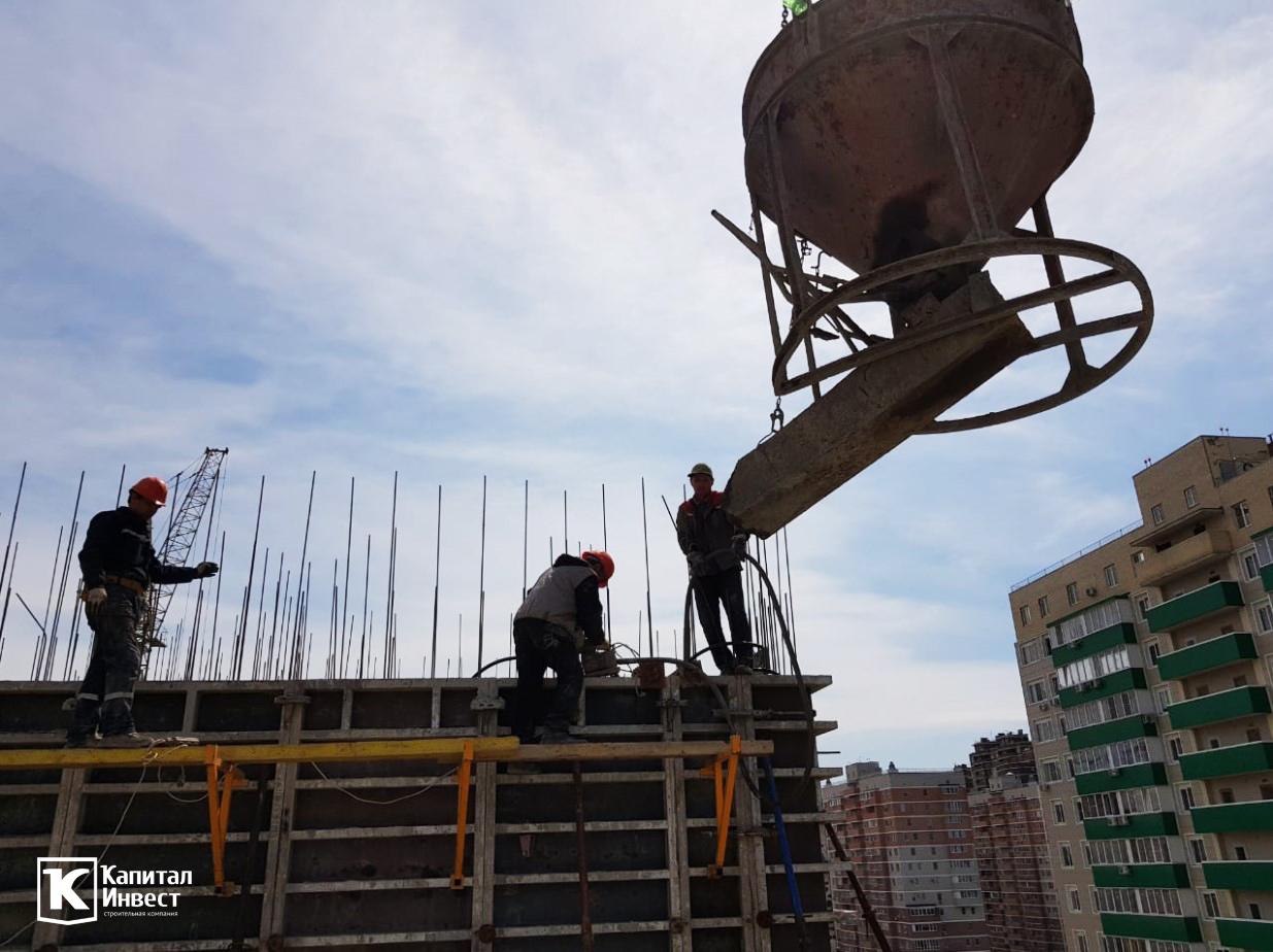 ЖК Грин Парк Литер 3. Фотоотчет март 2020.