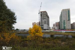 ЖК Грин Парк Литер 3. Фотоотчет октябрь 2020.