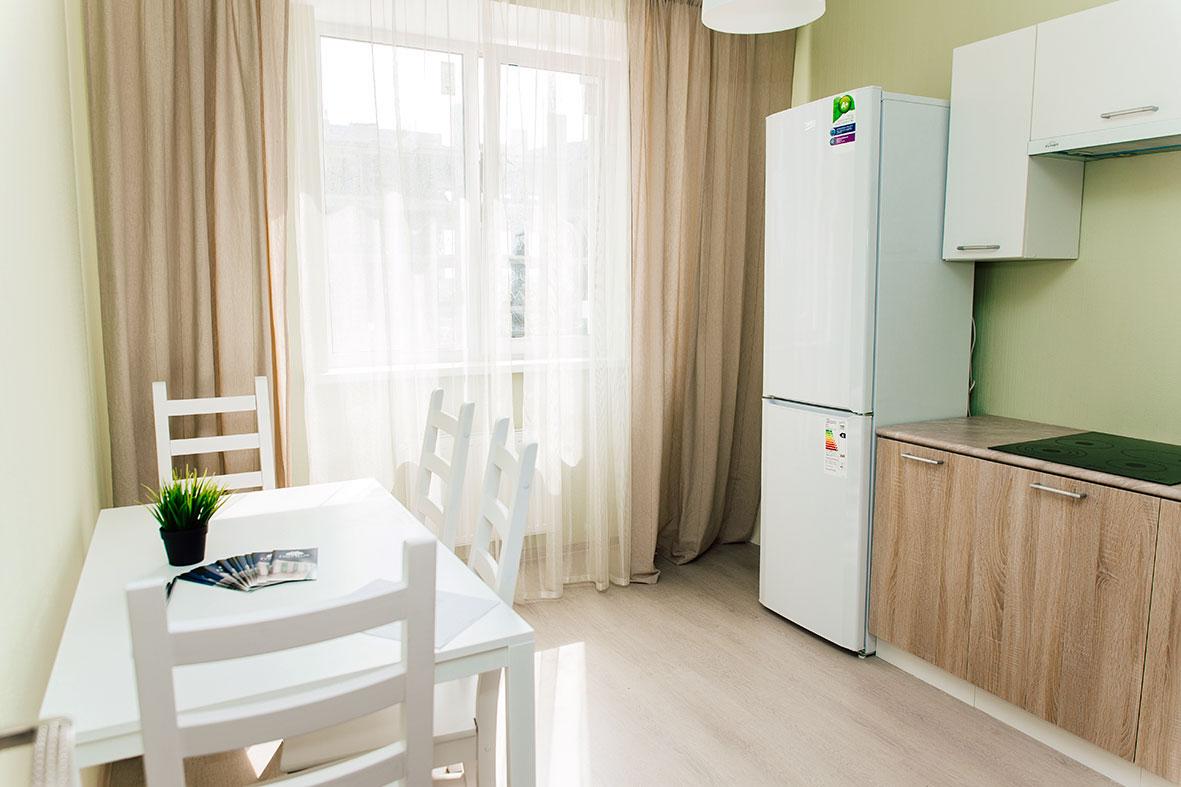1комнатная квартира - 41,30  кв. м.