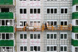 ЖК Грин Парк Литер 3. Фотоотчет декабрь 2020.