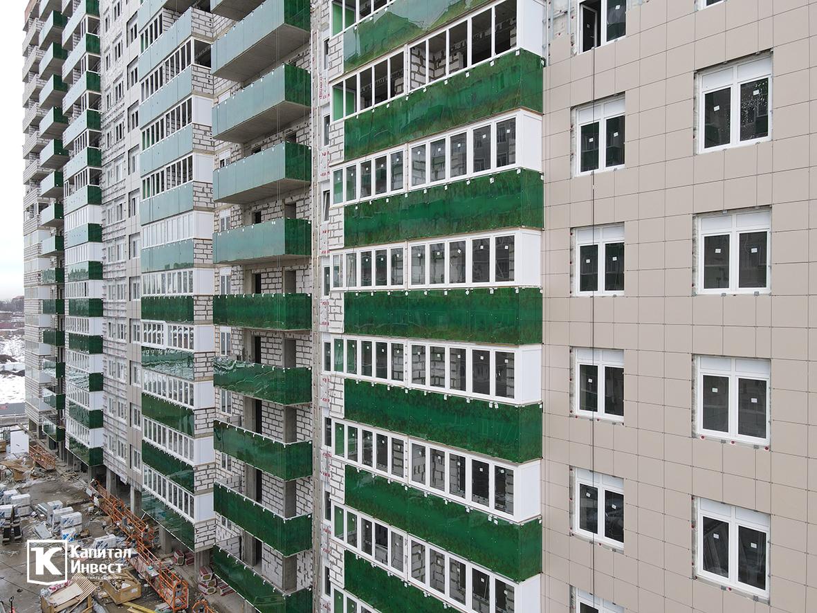 ЖК Грин Парк Литер 3. Фотоотчет январь 2021.