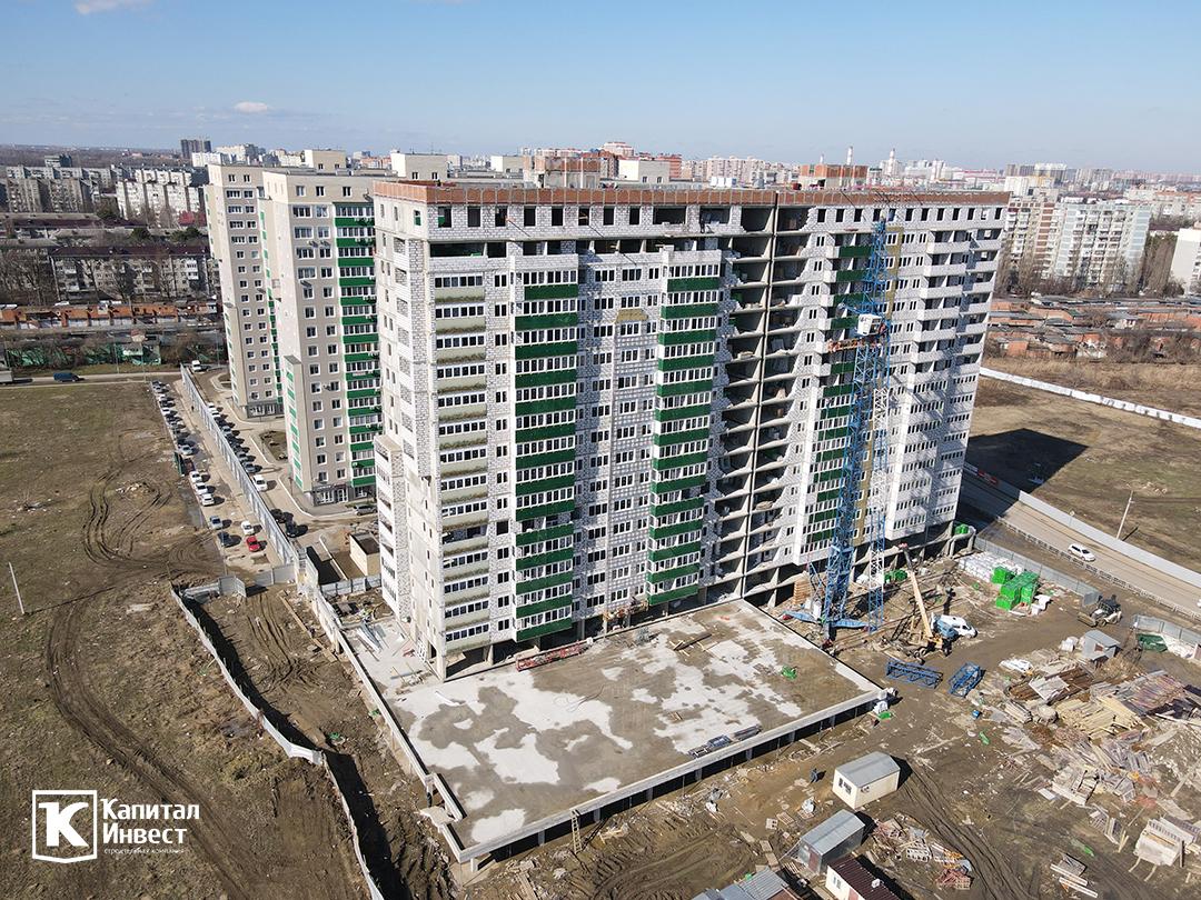 ЖК Грин Парк Литер 3. Фотоотчет февраль 2021.