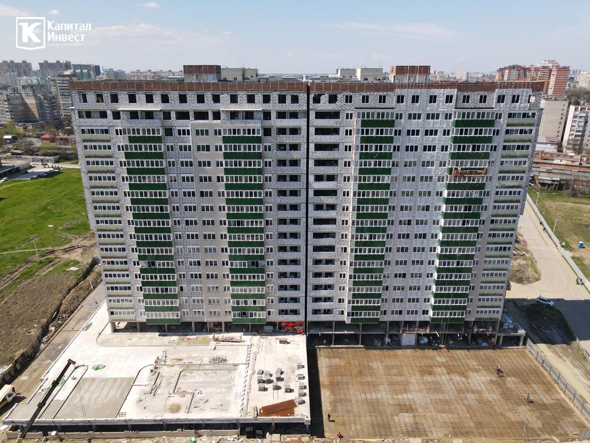 ЖК Грин Парк Литер 3. Фотоотчет апрель 2021.